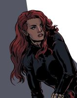 not another Black Widow by MarcLaming