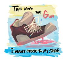 Gum shoe by FablePaint