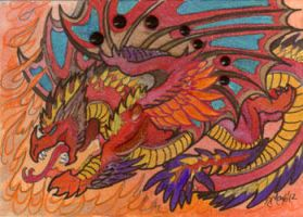 ACEO Dragon 19 by rachaelm5