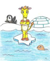Jiffy in the Arctic by MeMiMouse