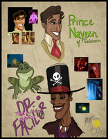 The Princess and the Frog 1 by Cor104