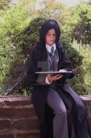 Young Snape- Study time by sayuri13