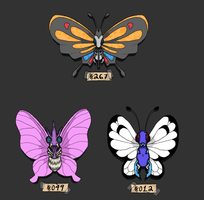 Pokemon Bug Collection by banana-bird111