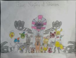 Five Night's At Pokemon by CesarCraft
