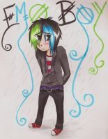 For The Trade - Emo Boy by Emi-Sempai