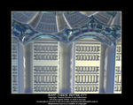 giant cheese grater city by fraterchaos