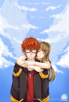 MM - I'll be your angel by Blue--Rosa