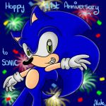Happy 21st Anniversary, Sonic! by EternalSonicFreak