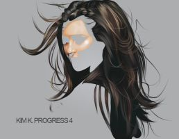 KIM K. PROGRESS 4 by fabulosity