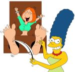Marge Tickles Lois by MikeTickler