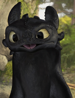 Toothless by dessavk