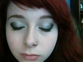 Simple Party Makeup by IndistinctStoner