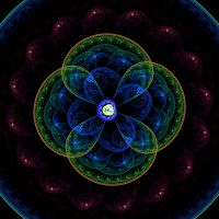 Fractal Coin_63 Zoom by BrotherNumsi