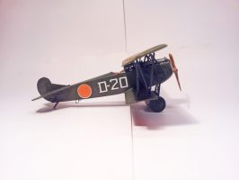Dutch Fokker D.VII MLD 009 by BlokkStox