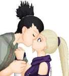 Shikamaru kisses Ino by Alexina