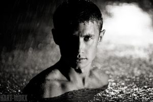 man of the rain III by Fred-Man