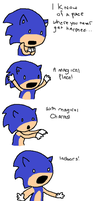Sonic Singing Indoors by Sonicchick113