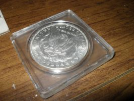 Morgan Dollar Back by Miss-Merlina