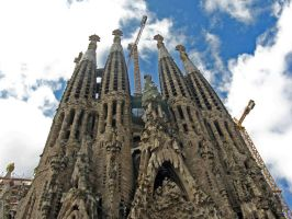Sagrada Familia by Anonimus79