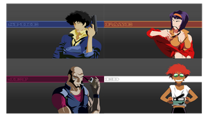Cowboy Bebop Minimal Wallpapers by ComplxDesign