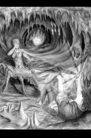 Shelob's Cave by hybridfaerie