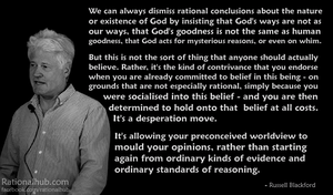 Russell Blackford on religious doublethink.. by rationalhub