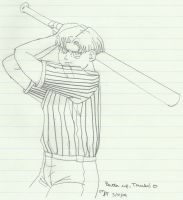 Mirai Trunks - Batter Up! - 2004 by TaishoBee
