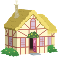 MLP Resource: House 01 by ZuTheSkunk