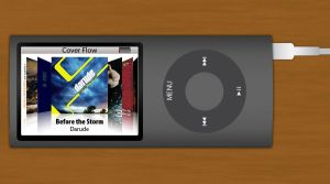 Ipod Nano 4G with cover flow by Andy202