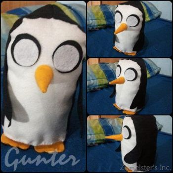 Gunter, the Penguin. by YukinaZomelster