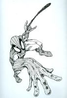 Spider-Man again by Mike-Hill