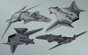 F/A-37 Talon phase3 completed by diasmon