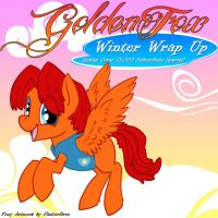 Winter Wrap Up 3k Cover Art by GoldenFoxDA