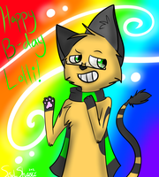 Happy B-Day Lolli! by SoulSharky