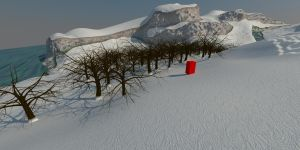 Quick winter forest experiment by senor-freebie