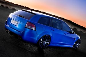 Sportswagon at Dusk 4 by RaynePhotography