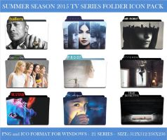 2015 Summer Season (Tv Series Folder Icon Pack) by Llyr86