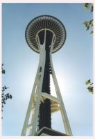 Space Needle by clonedrone2