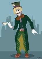 Gotham's Rogues: Mad Hatter by rickytherockstar
