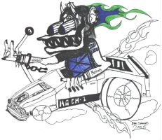 Hell On Four Wheels by syntheticrelapse