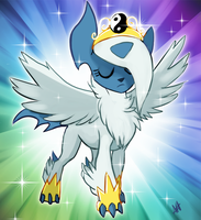 Absol is that you? by Skeleion
