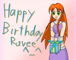 Happy Birthday Ravee by xxvorachaixx
