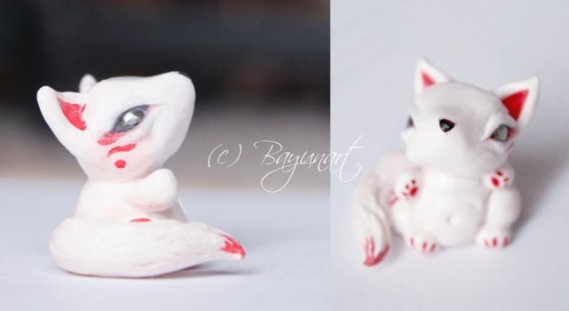 Fox Figurine 1 by Bayuna
