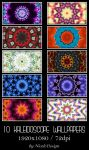 10 Kaleidoscope Wallpapers by NicoleDesign by noema-13