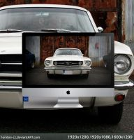 Ford Mustang Wallpaper by hombre-cz