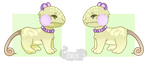 (OPEN!) Grape: Bingey Set-price by ImaLittleAdopts