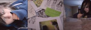 I photograph AND draw by Kiberz