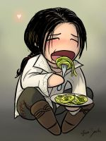 Ezio, Comfort Food by coloristjen