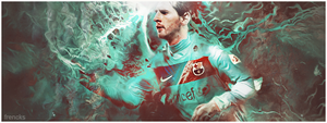 Messi- Barcellona- Signature by francksgfx