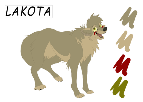 Lakota Character Sheet by lacusyamato2008